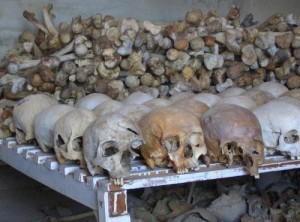 not even a fraction of the massacred population in Rwanda...